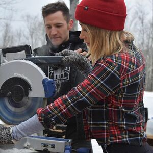 "I love watching @jacobwitzling create! He has a special airing of his latest build tomorrow night (Tuesday March 6th) at 9pm on DIY channel 9pm - ""Building Off the Grid: Cabin Wanderlust""! I can't wait to watch! SO proud of you!!!"