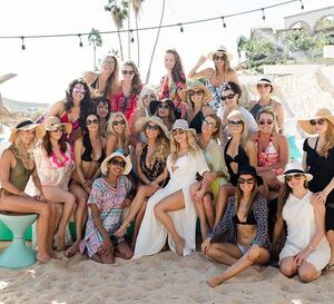 One of the most incredible weekends of my life...thank you to my amazing friend @katherynwinnick for getting us all together to support, love, grow, wish, and create such powerful lasting friendships. I am so blessed to have you in my life. Thank you for your light and love. Happy Birthday my darling! #canttageveryone #myladies #cabo2017 #kasadelkat